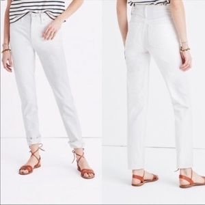 Madewell Perfect Summer Mom Jean